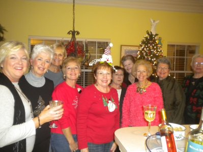 Last 2011 Bunco Babes Christmas Gathering